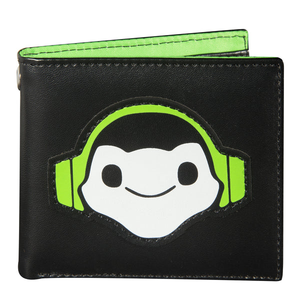View 1 of Overwatch Lucio Bi-fold Graphic Wallet photo. primary photo.