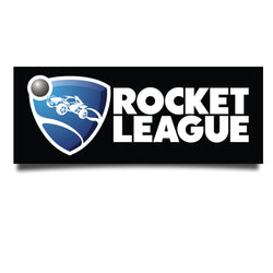 View 1 of Rocket League Logo Bumper Sticker photo.