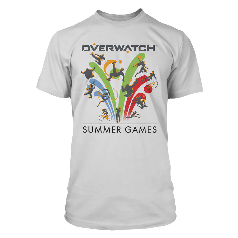 View 1 of Overwatch Summer Games Icon Premium Tee photo.