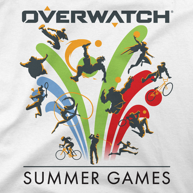 View 2 of Overwatch Summer Games Icon Premium Tee photo.