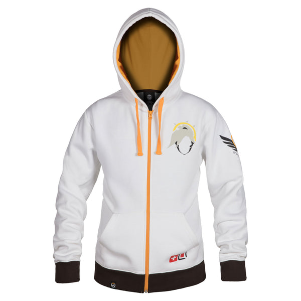 View 1 of Overwatch Ultimate Mercy Zip-Up Hoodie photo. primary photo.