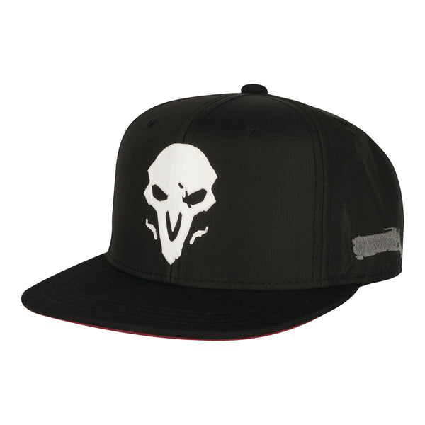 View 1 of Overwatch Reaper Wraith Snap Back Hat photo. primary photo.