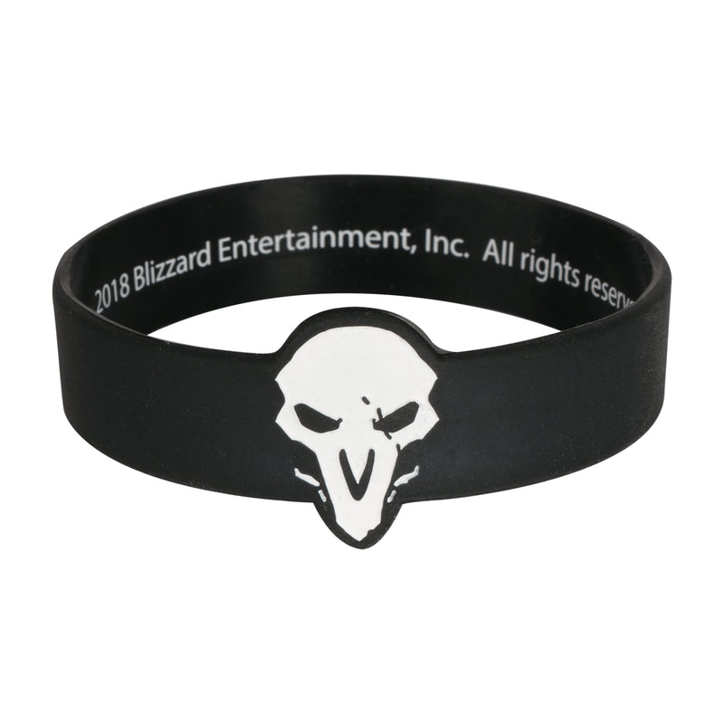 View 1 of Overwatch Reaper Rubber Bracelet photo.