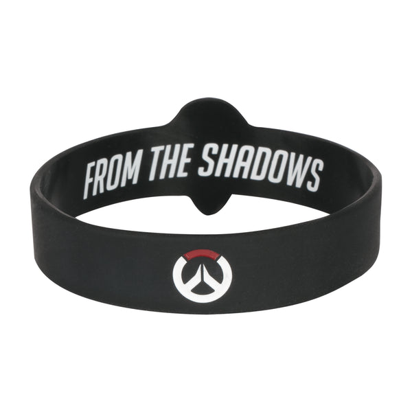 View 2 of Overwatch Reaper Rubber Bracelet photo. alternate photo.