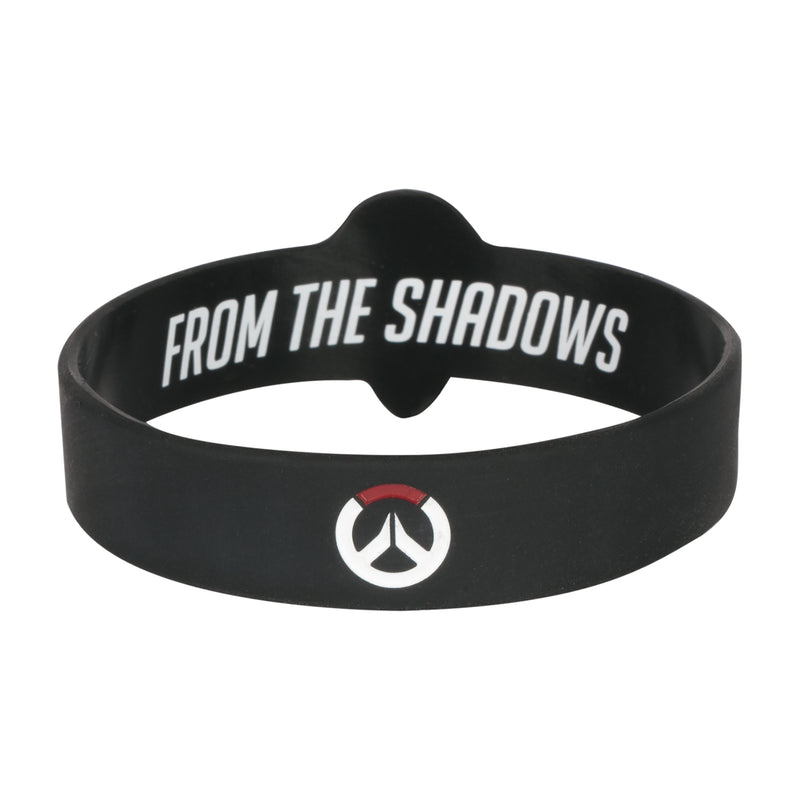 View 2 of Overwatch Reaper Rubber Bracelet photo.