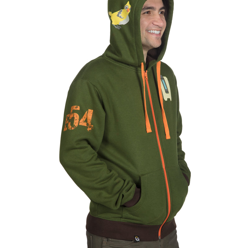 View 6 of Overwatch Ultimate Bastion Zip-Up Hoodie photo.