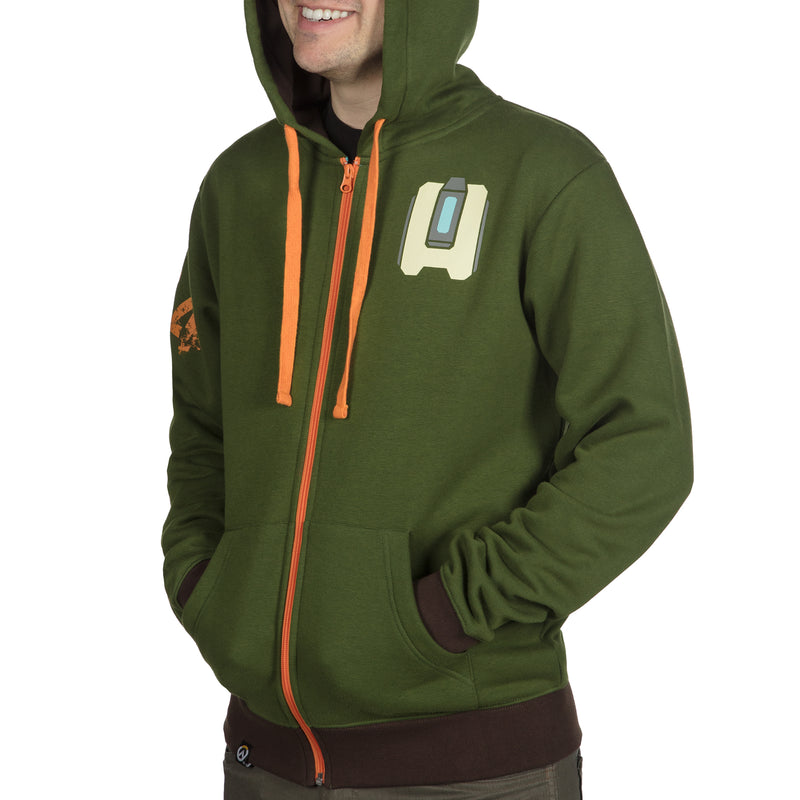 View 7 of Overwatch Ultimate Bastion Zip-Up Hoodie photo.