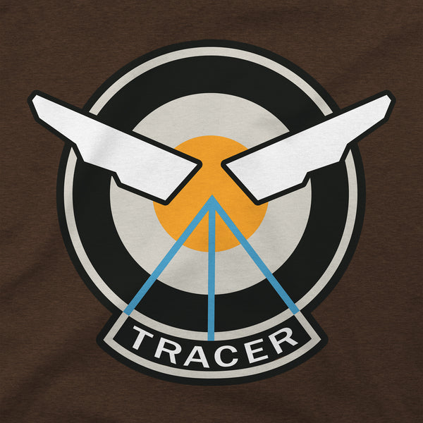 View 2 of Overwatch Tracer Icon Premium Tee photo. alternate photo.