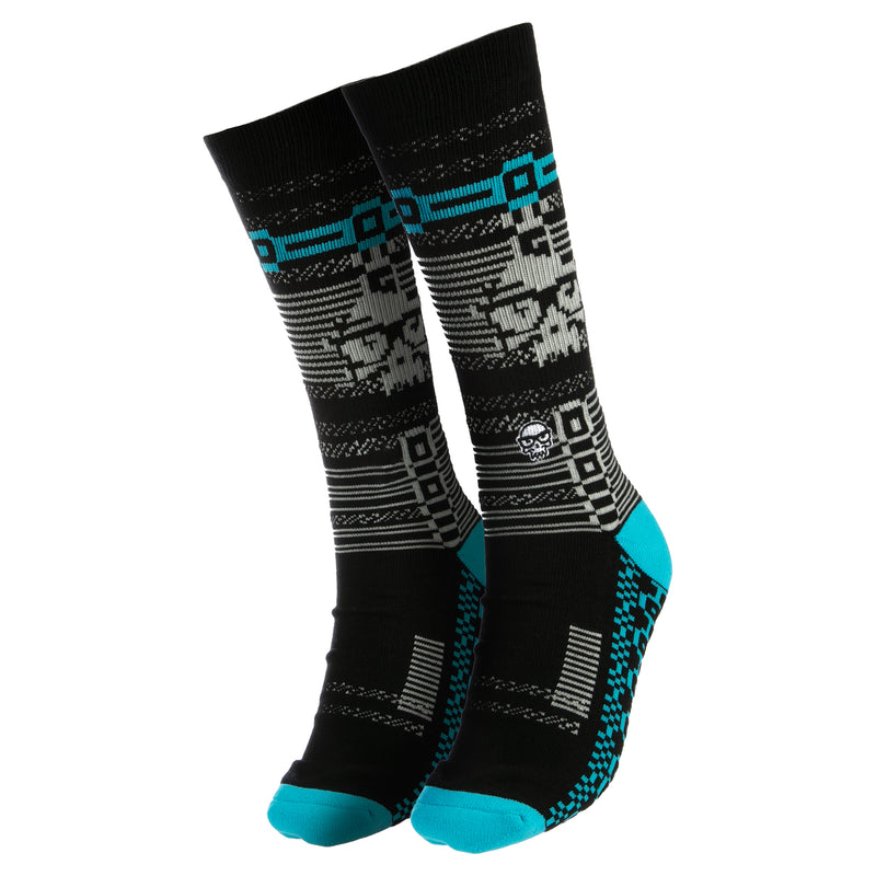 View 1 of J!NX Glitch Socks photo.