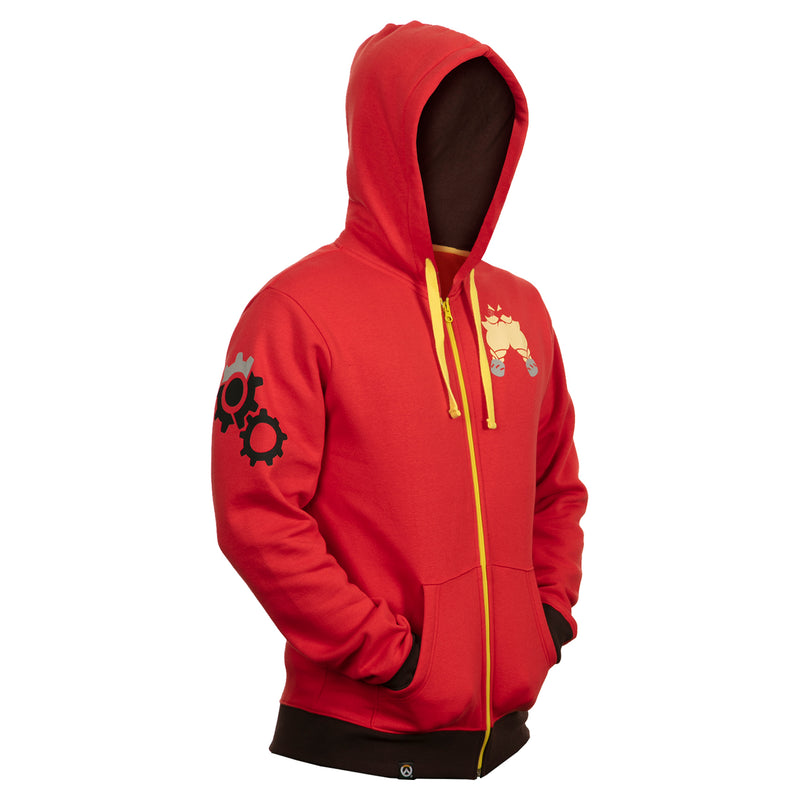 View 4 of Overwatch Ultimate Torbjorn Zip-Up Hoodie photo.
