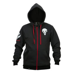 View 1 of Overwatch Ultimate Reaper Zip-Up Hoodie photo.