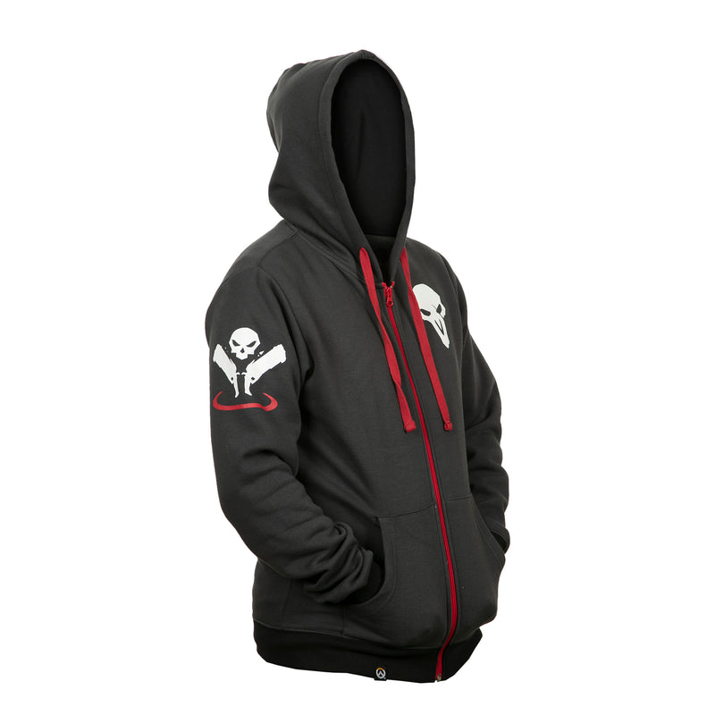 View 3 of Overwatch Ultimate Reaper Zip-Up Hoodie photo.