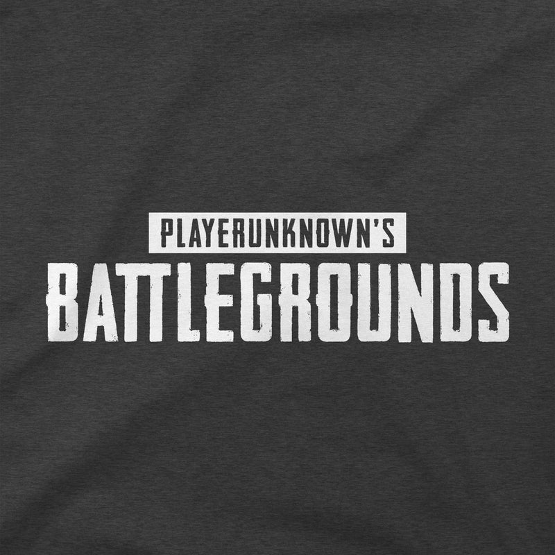 View 2 of PUBG White Logo Premium Tee photo.