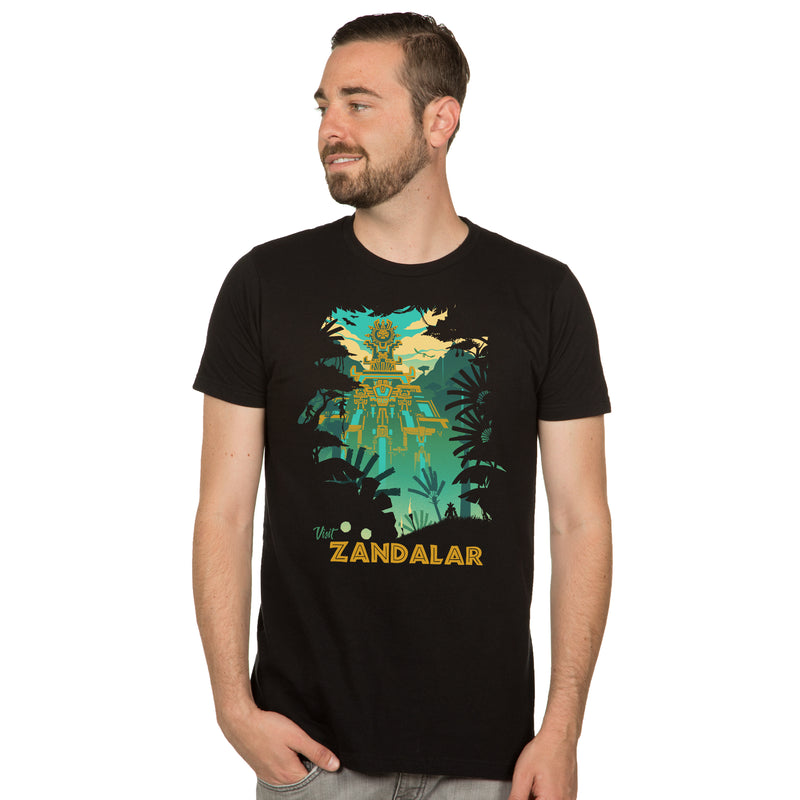 View 1 of World of Warcraft Visit Zandalar Premium Tee photo.