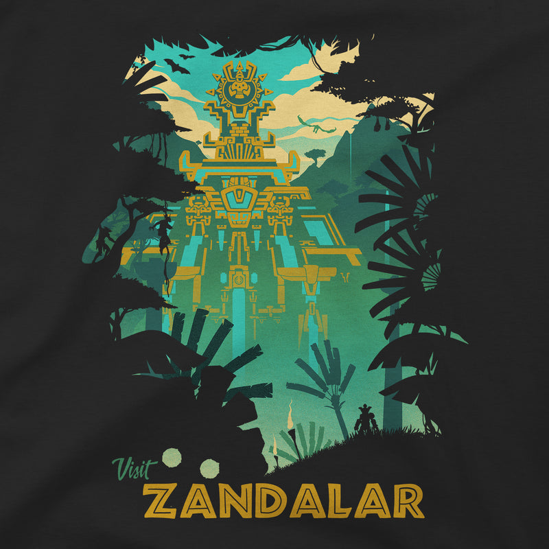 View 2 of World of Warcraft Visit Zandalar Premium Tee photo.
