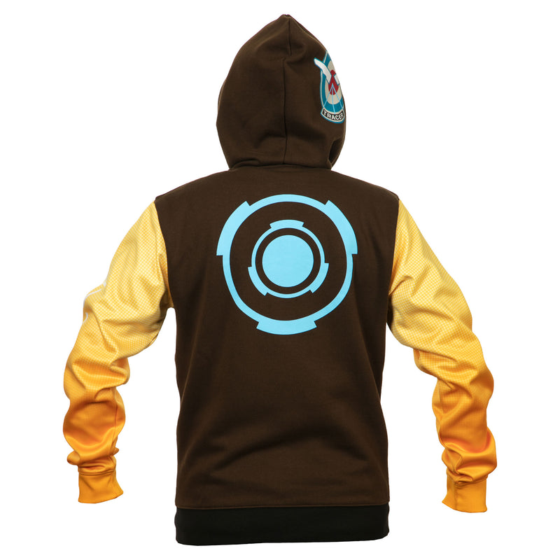 View 3 of Overwatch Ultimate Tracer Zip-Up Hoodie photo.