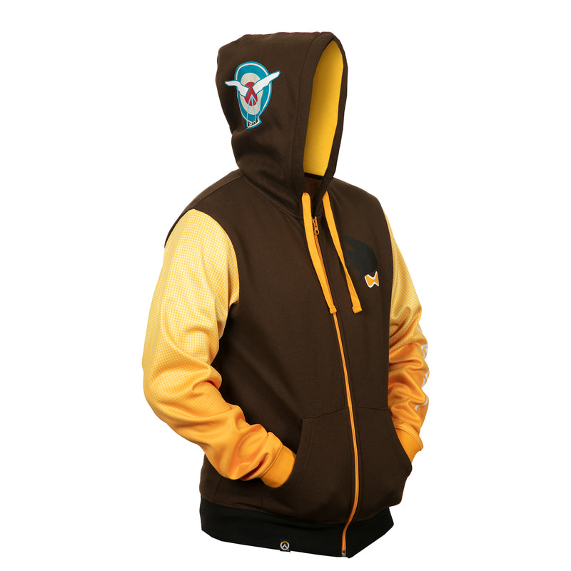 View 4 of Overwatch Ultimate Tracer Zip-Up Hoodie photo.