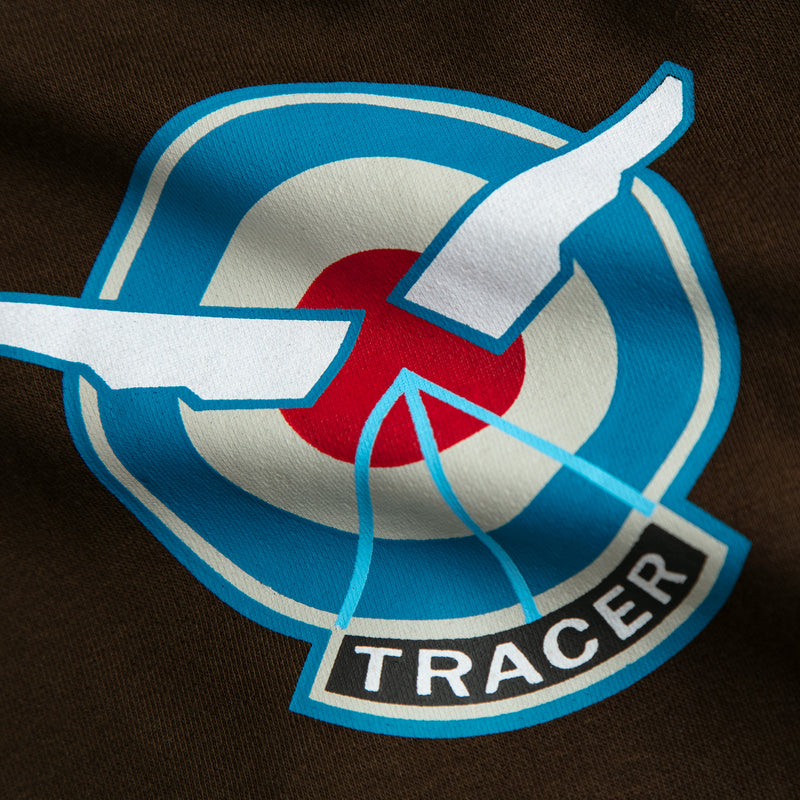 View 6 of Overwatch Ultimate Tracer Zip-Up Hoodie photo.