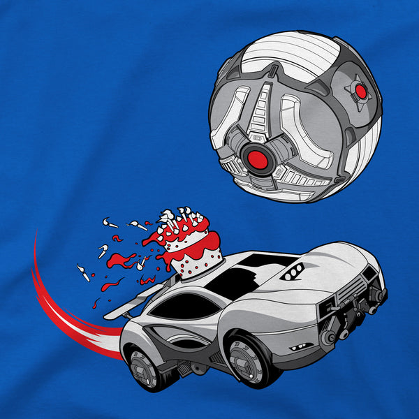 View 2 of Rocket League Masamune Cake Topper Youth Tee photo. alternate photo.