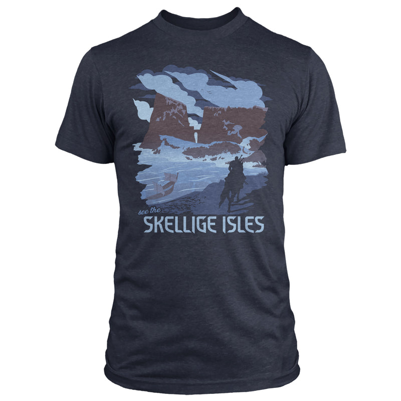 View 1 of The Witcher 3 See the Skellige Isles Premium Tee photo.