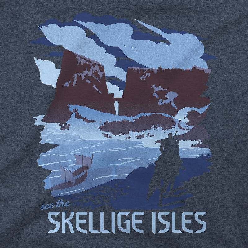 View 2 of The Witcher 3 See the Skellige Isles Premium Tee photo.