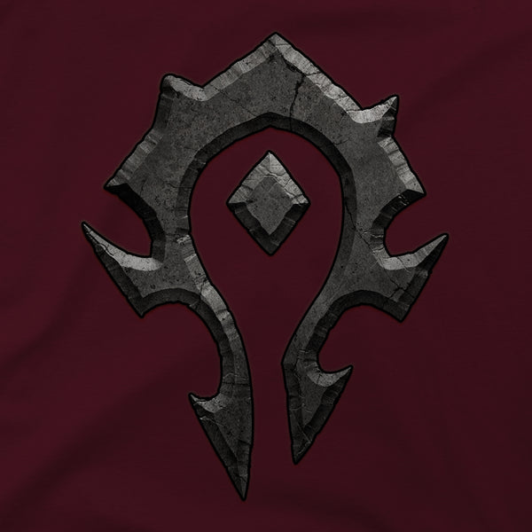 View 2 of World of Warcraft Horde Logo Premium Tee photo. alternate photo.