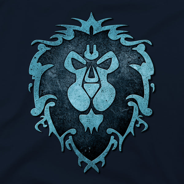 View 2 of World of Warcraft Alliance Logo Premium Tee photo. alternate photo.