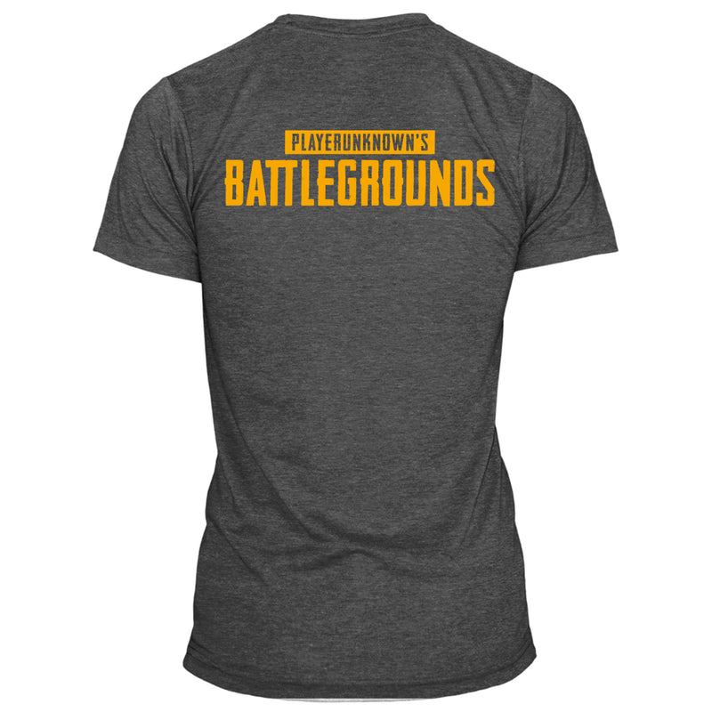 View 1 of PUBG Orange Logo Pocket Tee photo.