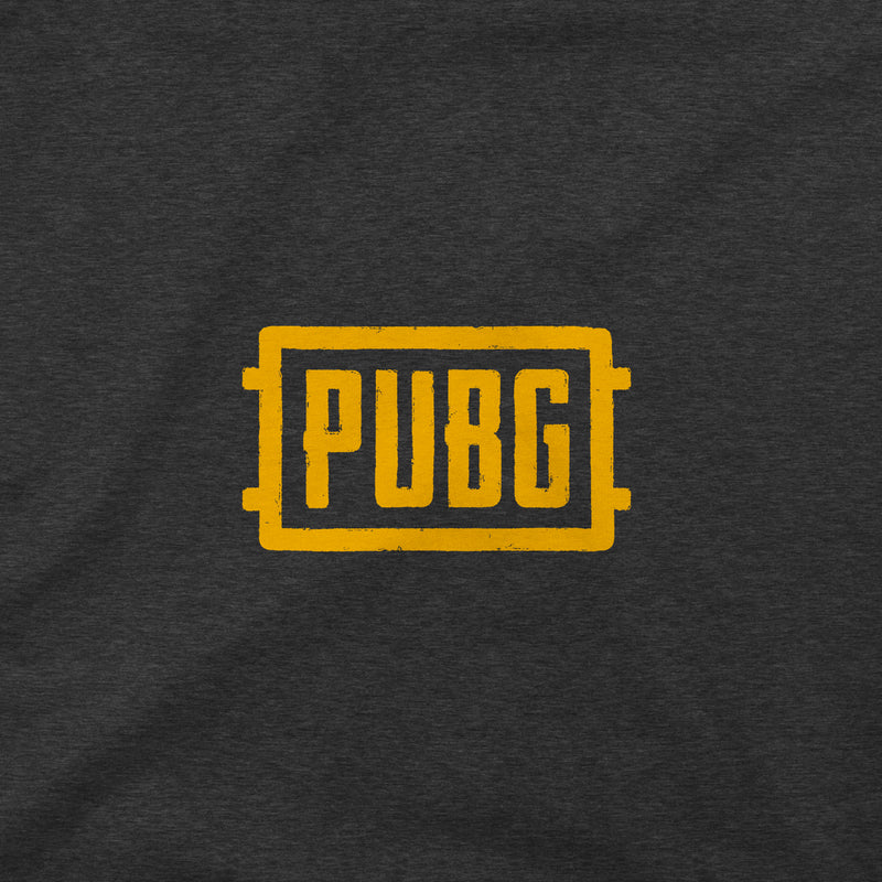 View 4 of PUBG Orange Logo Pocket Tee photo.