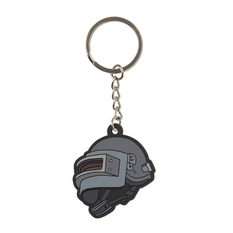 View 1 of PUBG Level 3 Helmet Keychain photo.
