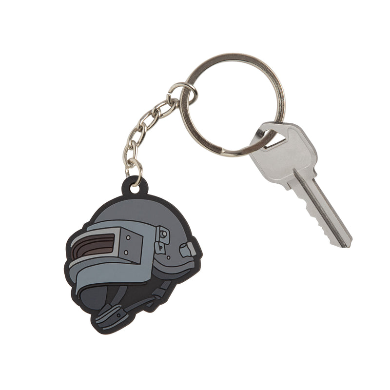 View 2 of PUBG Level 3 Helmet Keychain photo.