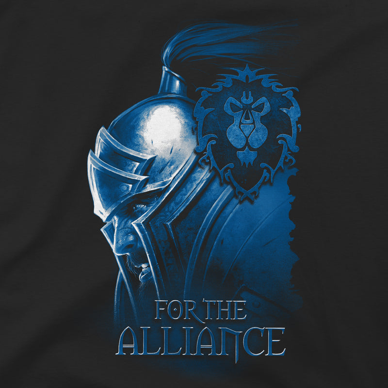 View 2 of World of Warcraft Alliance Face Premium Tee photo.