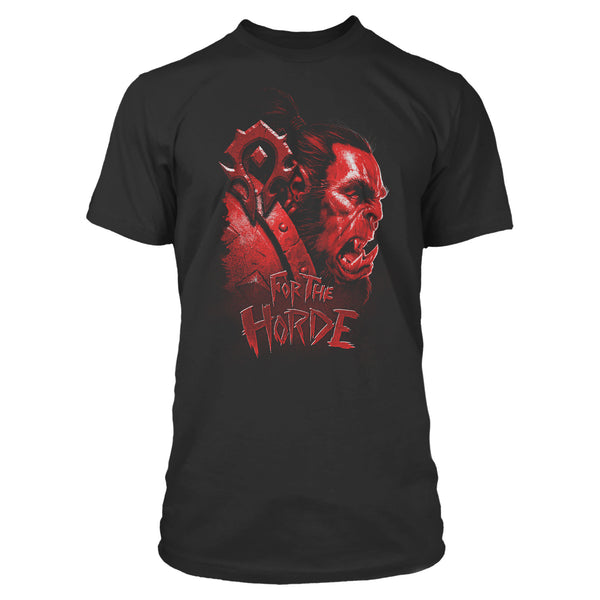 View 1 of World of Warcraft Horde Face Premium Tee photo. primary photo.