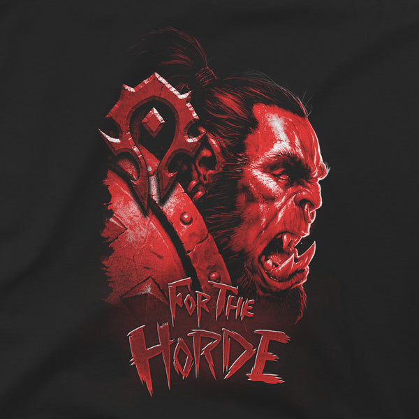 View 2 of World of Warcraft Horde Face Premium Tee photo. alternate photo.