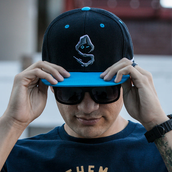 View 1 of Shroud Logo Snap Back Hat photo. primary photo.