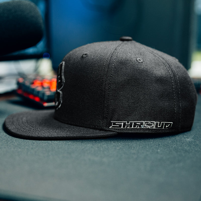 View 2 of Shroud Blackout Logo Snap Back Hat photo.