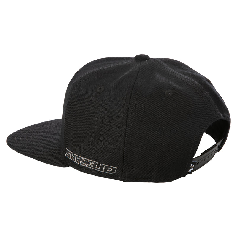 View 6 of Shroud Blackout Logo Snap Back Hat photo.