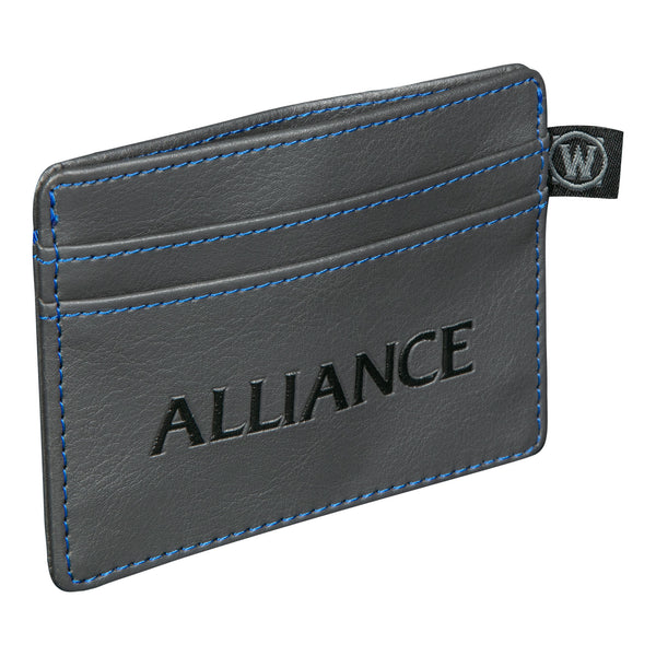 View 2 of World of Warcraft Alliance Travel Card Wallet photo. alternate photo.