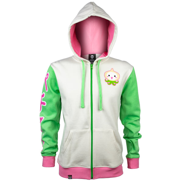View 1 of Overwatch Ultimate Pachimari Zip-Up Hoodie photo. primary photo.
