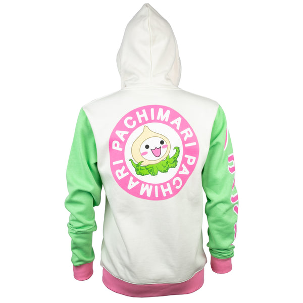 View 2 of Overwatch Ultimate Pachimari Zip-Up Hoodie photo. alternate photo.