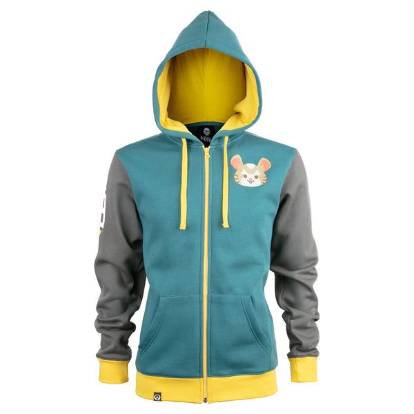 View 1 of Overwatch Ultimate Wrecking Ball Zip-Up Hoodie photo. primary photo.