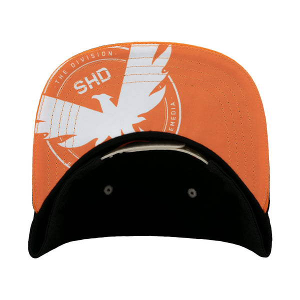 View 2 of The Division 2 Agent On Duty Snap Back Hat photo. alternate photo.
