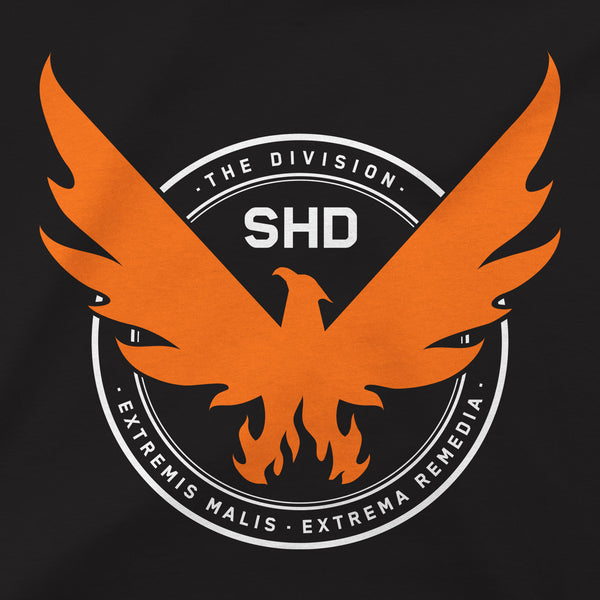 View 2 of The Division 2 SHD Logo Premium Tee photo. alternate photo.