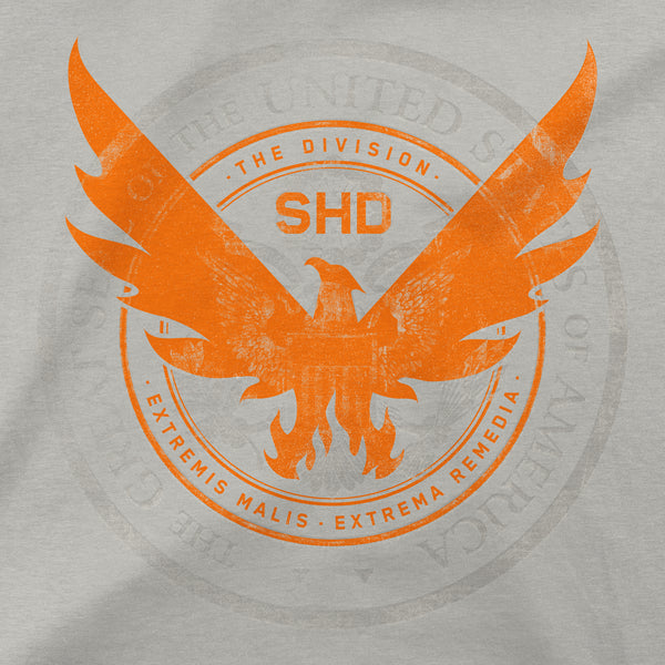 View 2 of The Division 2 Seal Premium Tee photo. alternate photo.