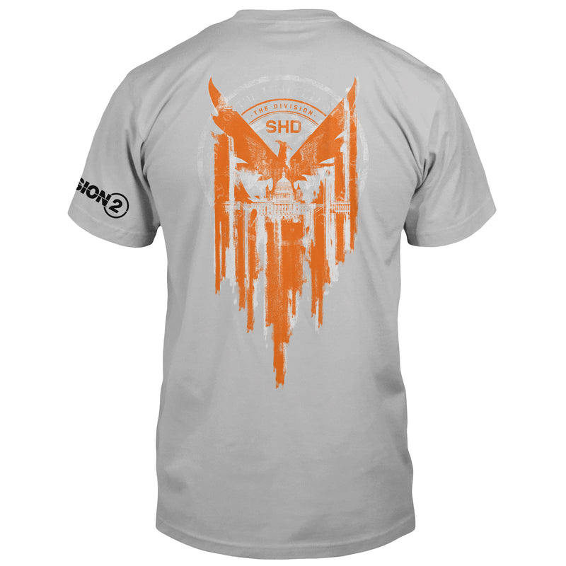 View 1 of The Division 2 Phoenix Capitol Pocket Tee photo.