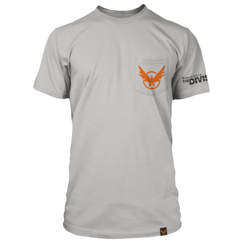 View 3 of The Division 2 Phoenix Capitol Pocket Tee photo.