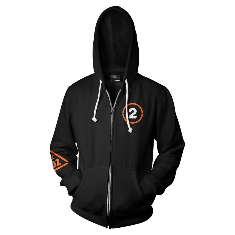 View 1 of The Division 2 SHD Agent Zip-Up Hoodie photo.