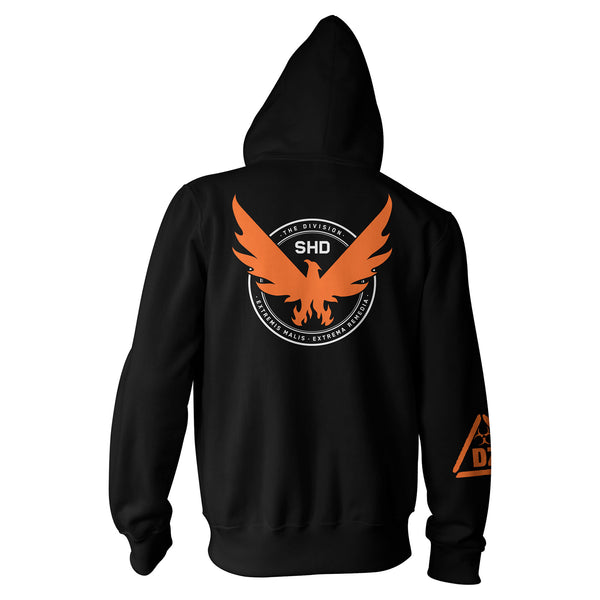 View 2 of The Division 2 SHD Agent Zip-Up Hoodie photo. alternate photo.