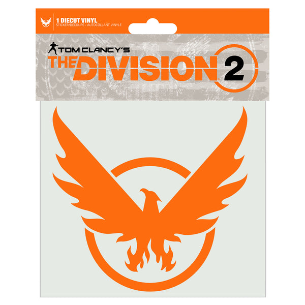 View 2 of The Division 2 Phoenix on Board Decal photo. alternate photo.