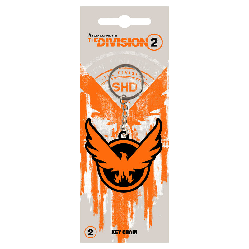 View 2 of The Division 2 On the Move Keychain photo.